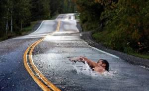 autostradă înot